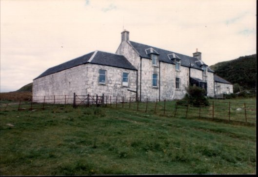 Barnhill on the Scottish island of Jura, where George Orwell wrote 1984, is still open to writers seeking solitude and lack of Wifi.