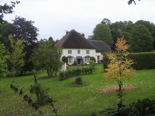Court Green in Devon, the house of Sylvia Plath and Ted Hughes. Picture courtesy of P.H. Davies. Hughes' widow still lives there.